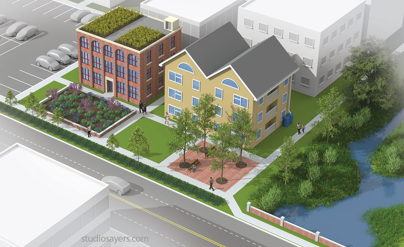 green infrastructure water conservation