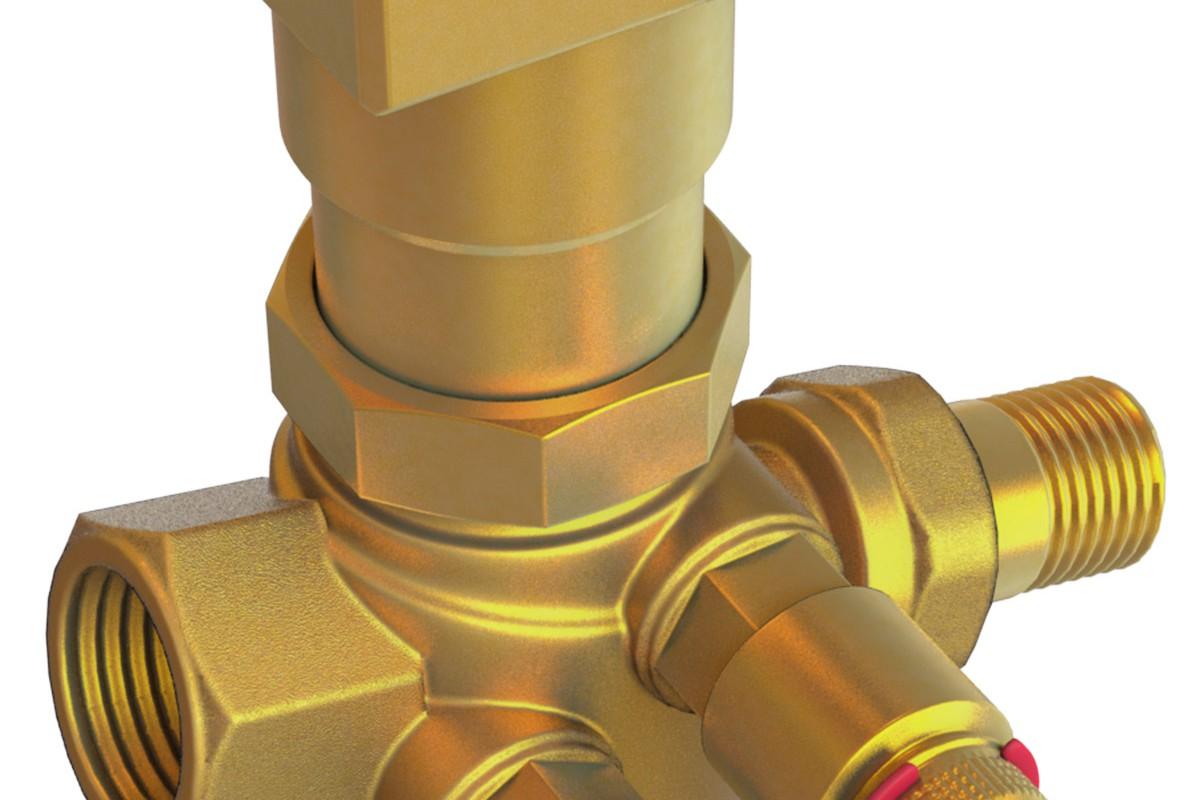3D valve rendering