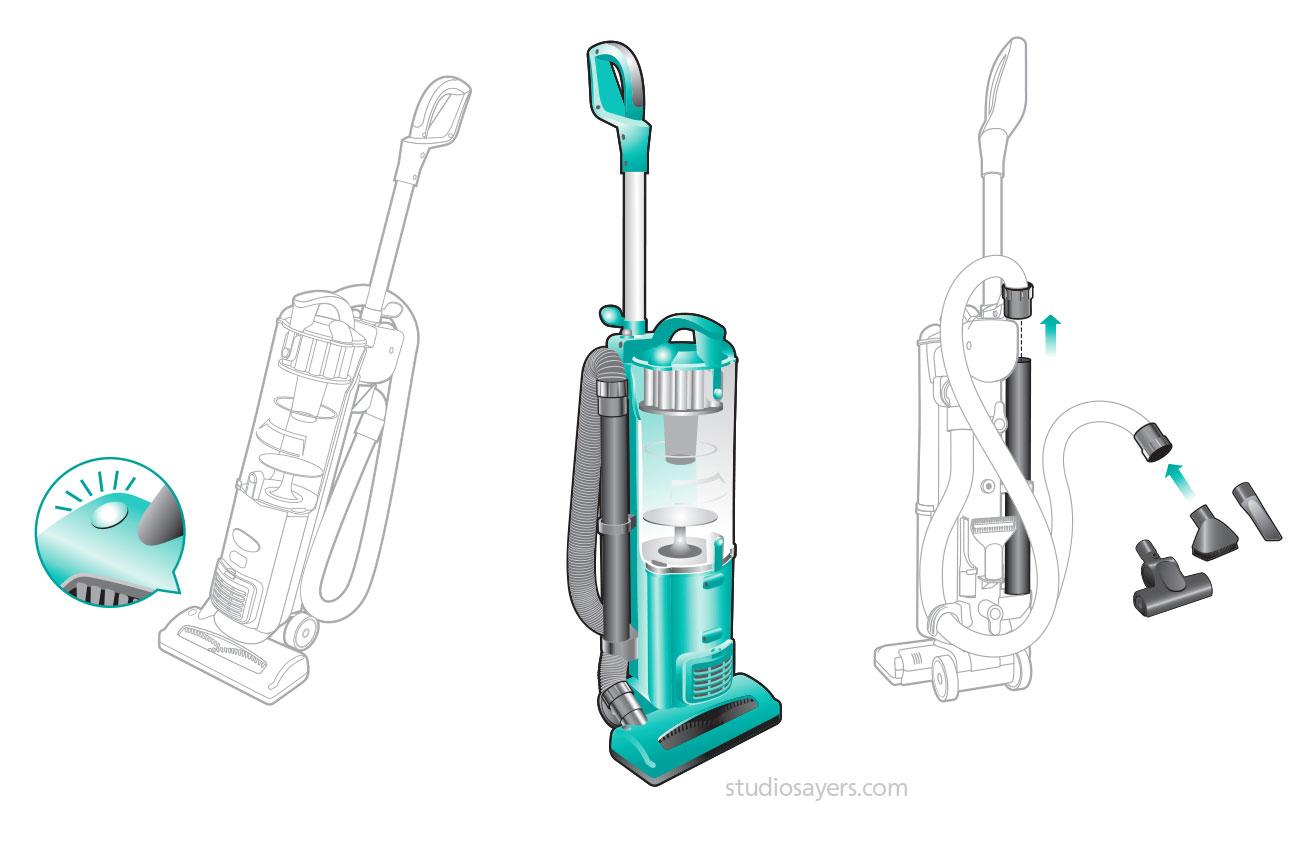EuroPro nv22 vacuum cleaner