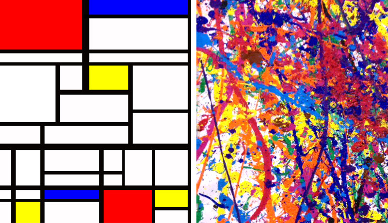 Mondrian/Pollack
