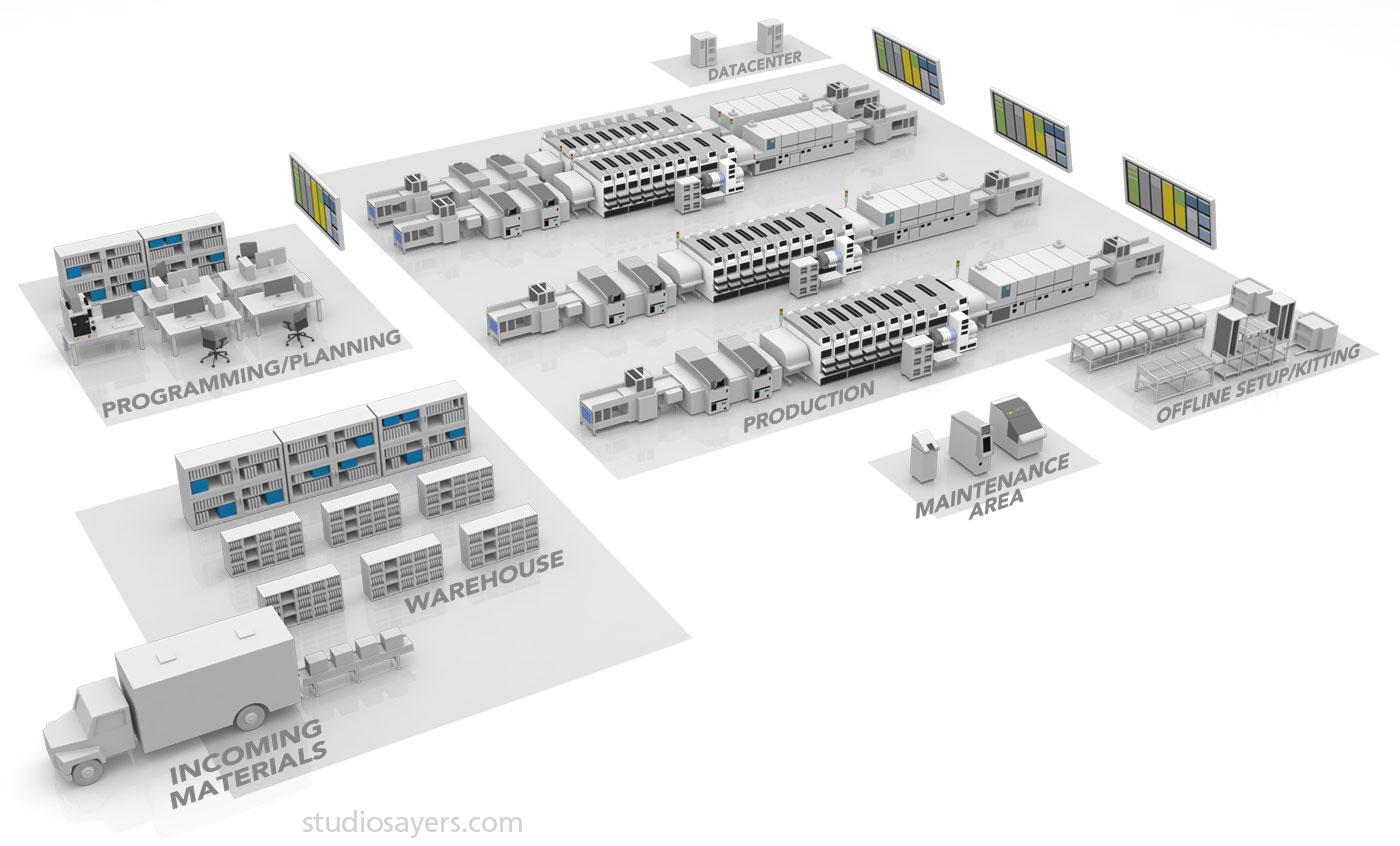 nexim software process fuji factory